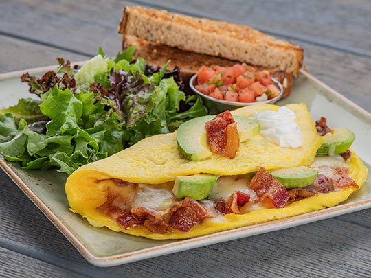 Sun & Fork Eggs